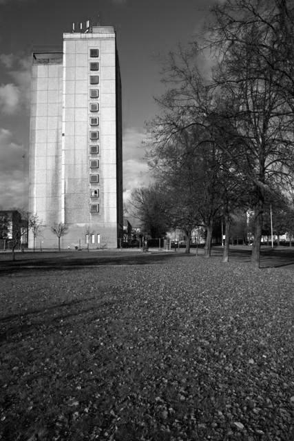 Guben, Hochhaus